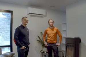 Kalle Samooja & Toshiba Ilmalämpöpumput
